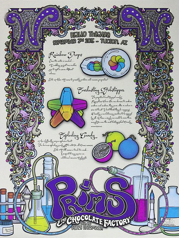 Gumball-Designs-PRIMUS-Poster-Tucson-2015