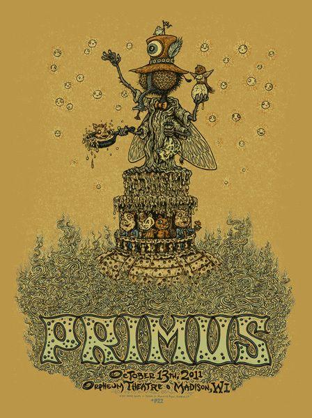 Primus Orpheum 2011