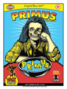 Primus June 7 Toronto