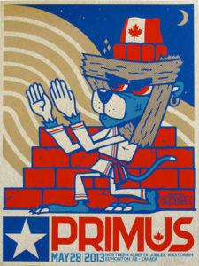 Primus May 28 Edmonton