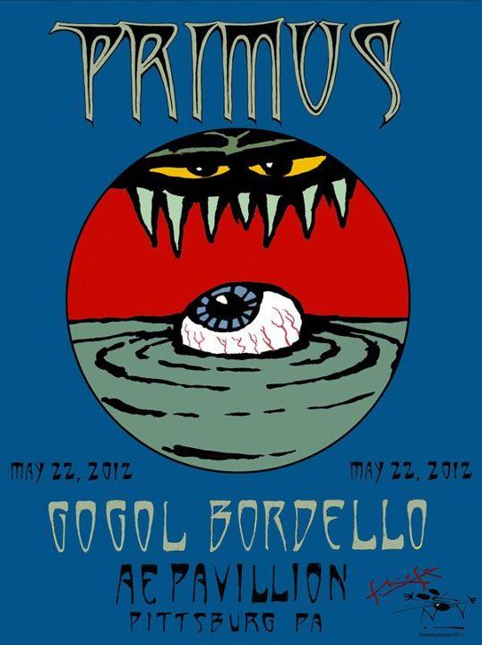 Primus Pittsburgh 2012