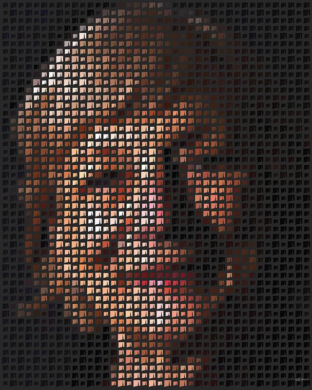 Diversity pixel artwork women 2