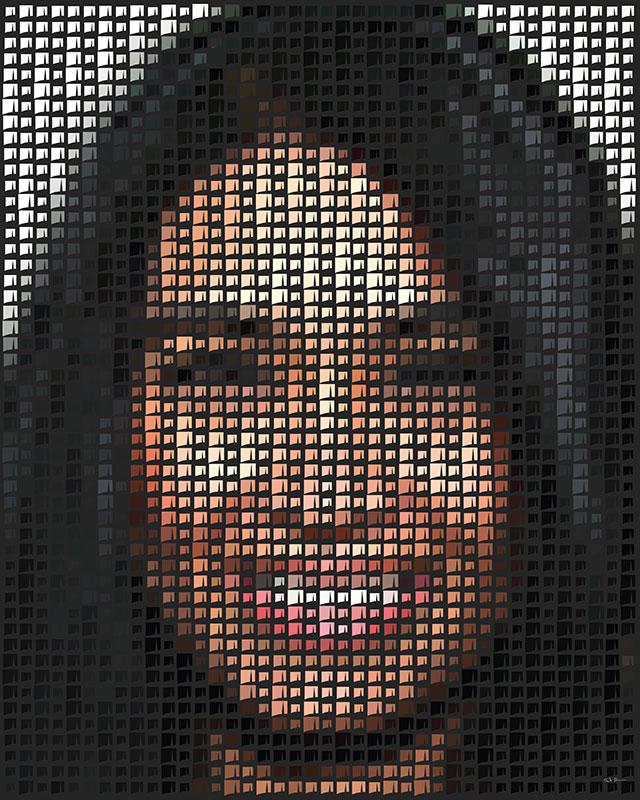 Diversity pixel artwork women